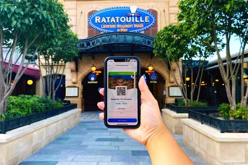 como está a Disneyland Paris após a reabertura e os protocolos que estão sendo adotados. Fila virtual