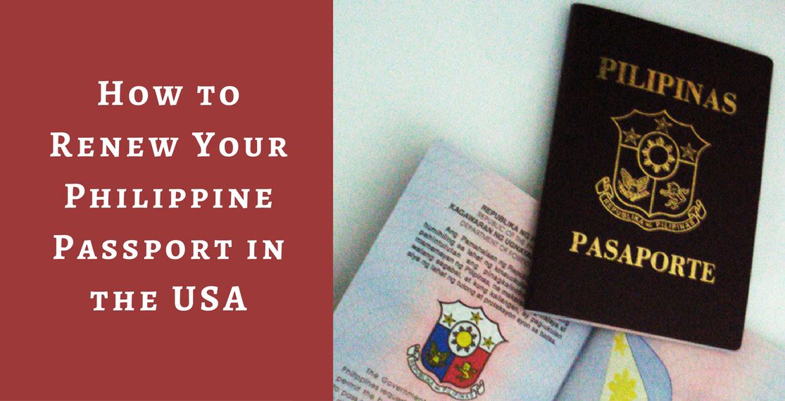 How to Renew Your Philippine Passport in the USA