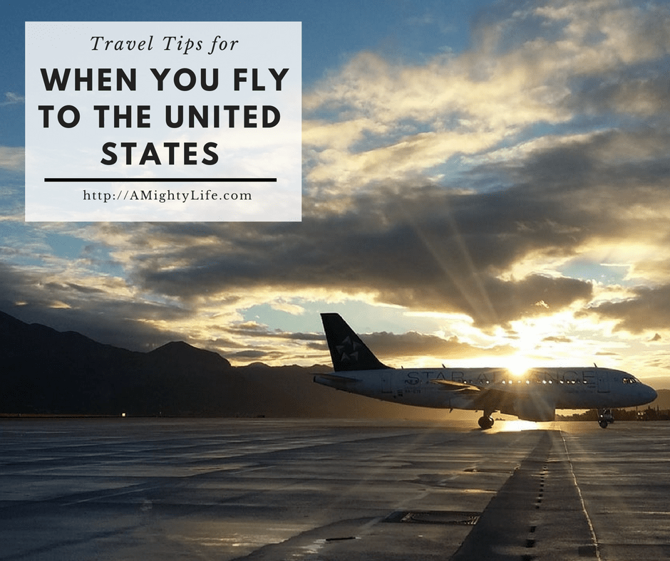 Travel Tips When You Fly to the United States: Guide for the US-Bound Pinoy
