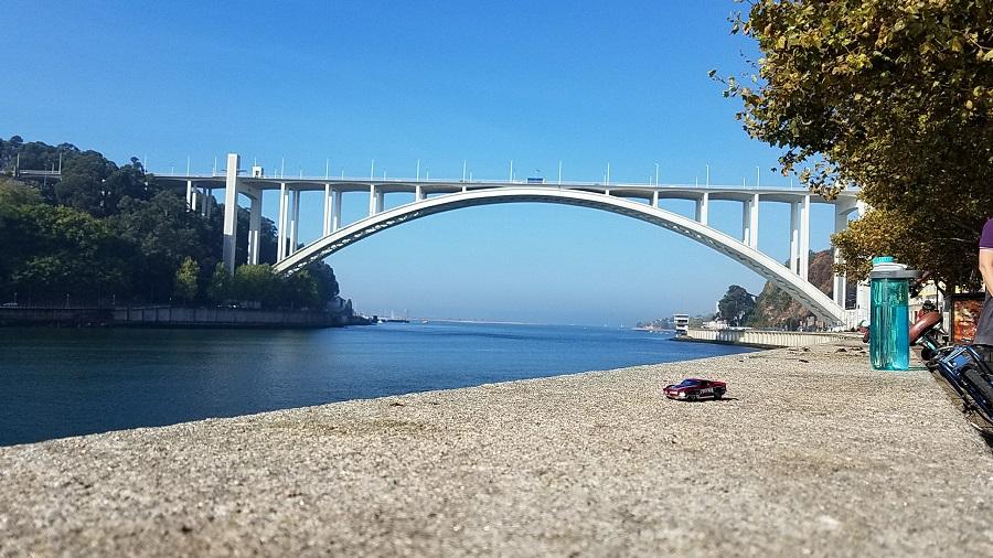 Exploring Porto, Portugal on a Bike