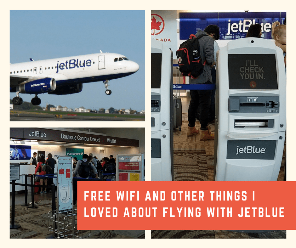 Free WiFi and Other Things I Loved about Flying with Jetblue