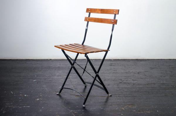 Chair, Gardern Steel & Wood