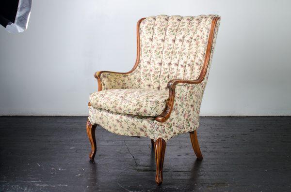 Lounge Furniture- vintage arm chair floral