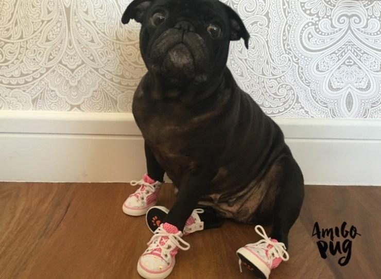 Look do dia - tenis rosa