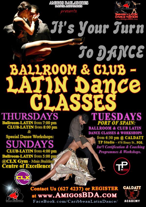 Free-Style Ballroom & Latin Dance Workshop
