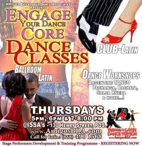 Amigos Bailadores Dance Classes in Trinidad & Tobago and the Caribbean.