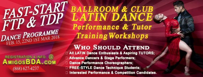 Ballroom & Latin Dance - Stage Performance and Tutor Development Training Programme.