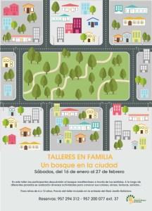 taller en familia: un bosque en la ciudad
