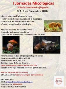 2016 - I Jornadas Micologicas