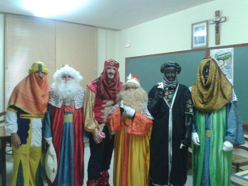 reyes magos de Fuentidueña