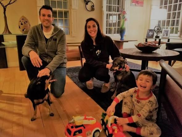 Kai with family