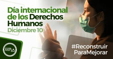 Día internacional de los Derechos Humanos: Reconstruir para mejorar