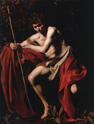 Un impresionante San Juan Bautista de Caravaggio