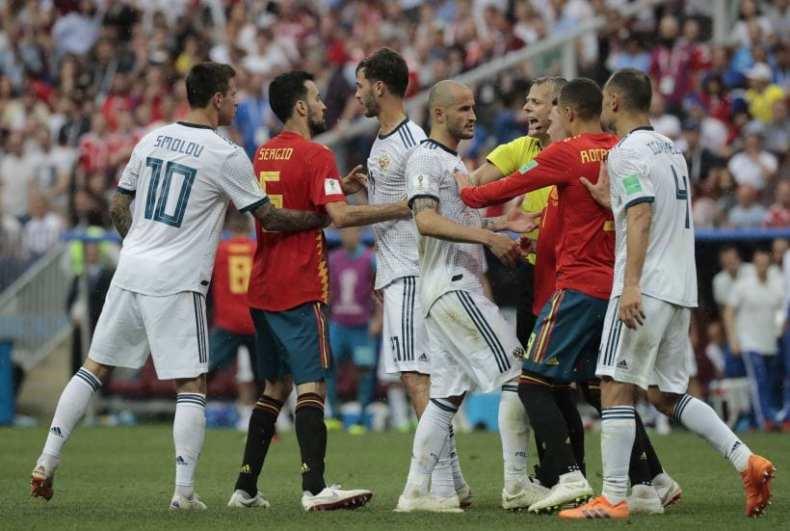 Russia Soccer WCup Spain Russia