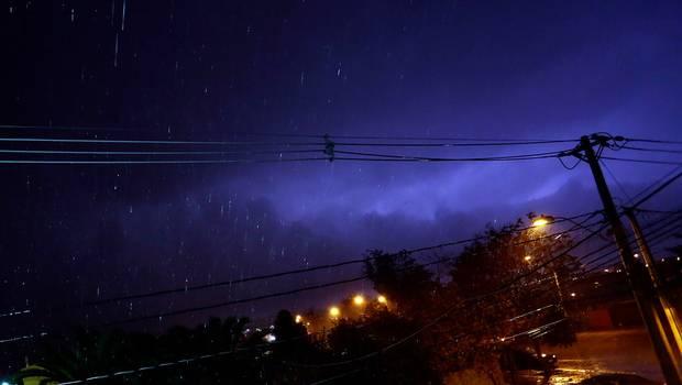 Temporal comienza con fuertes lluvias en Concepción