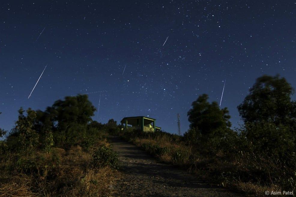Esta madrugada se vivirá la ÚLTIMA LLUVIA DE METEORITOS que se podrá ver en Chile