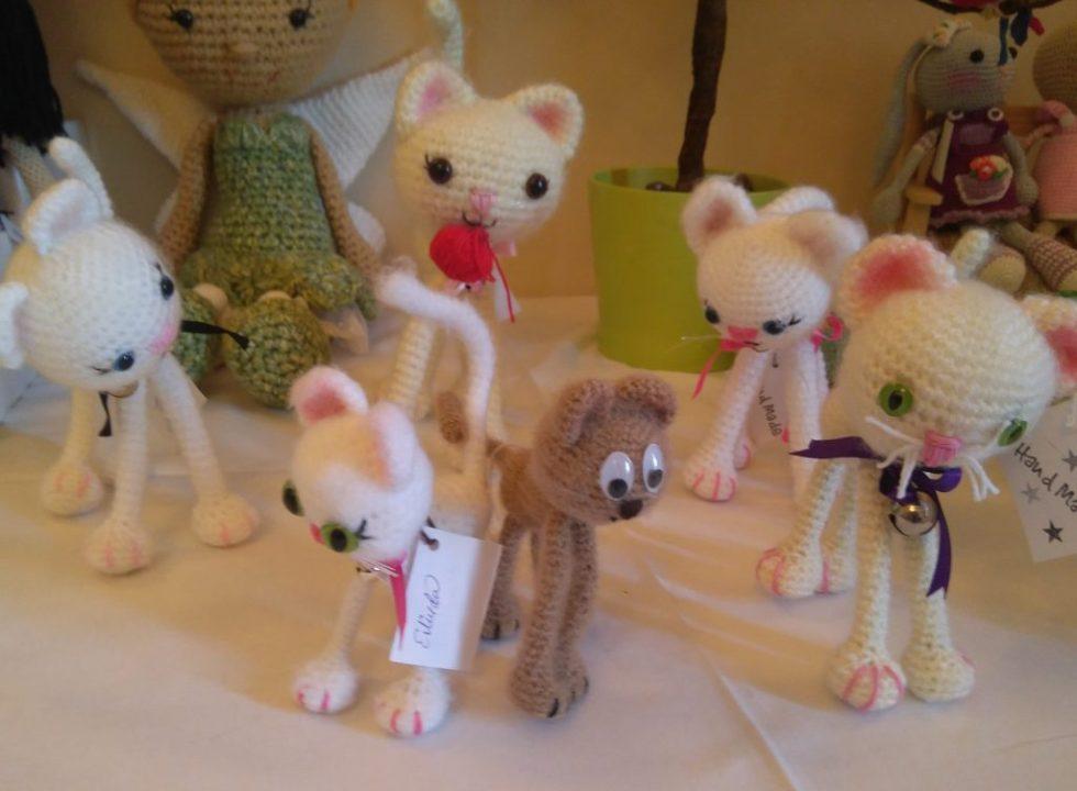 Amiguitos de Crochet-Fin de curso taller amigurumis Granada