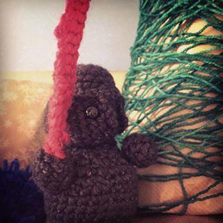 Darth vader amigurumi crochet