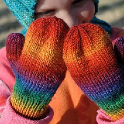 It's Christmas, and I have not knit these mittens.
