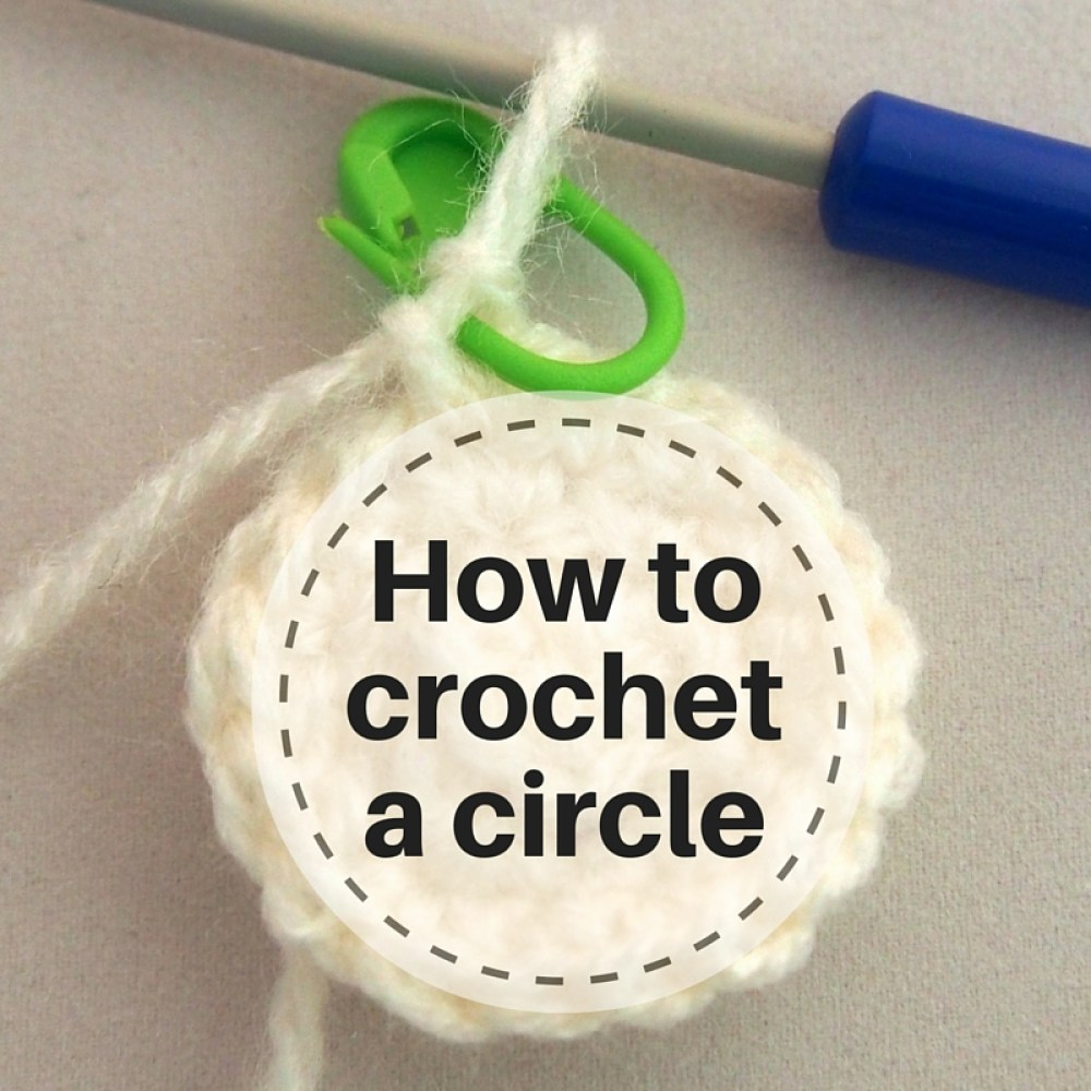 Crochet a circle tutorial