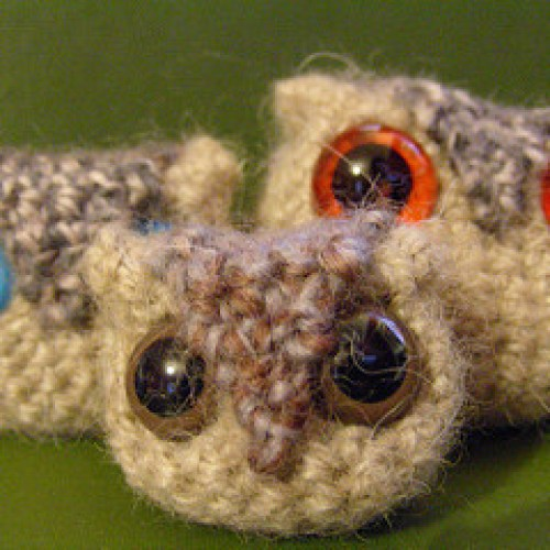 How to crochet an owl