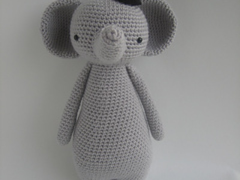 Crochet Or Knit An Elephant Toy Amiguru