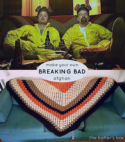 Breaking Bad Afghan Crochet Pattern
