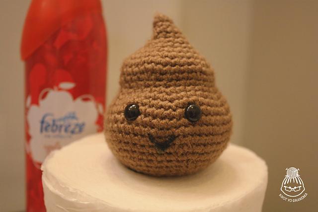 Crocheted Poo Pattern