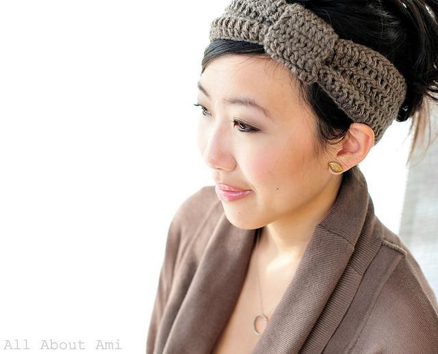 Free Crocheted headband pattern