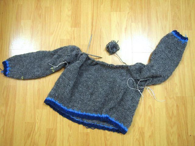 BangOutASweater colorwork lopi