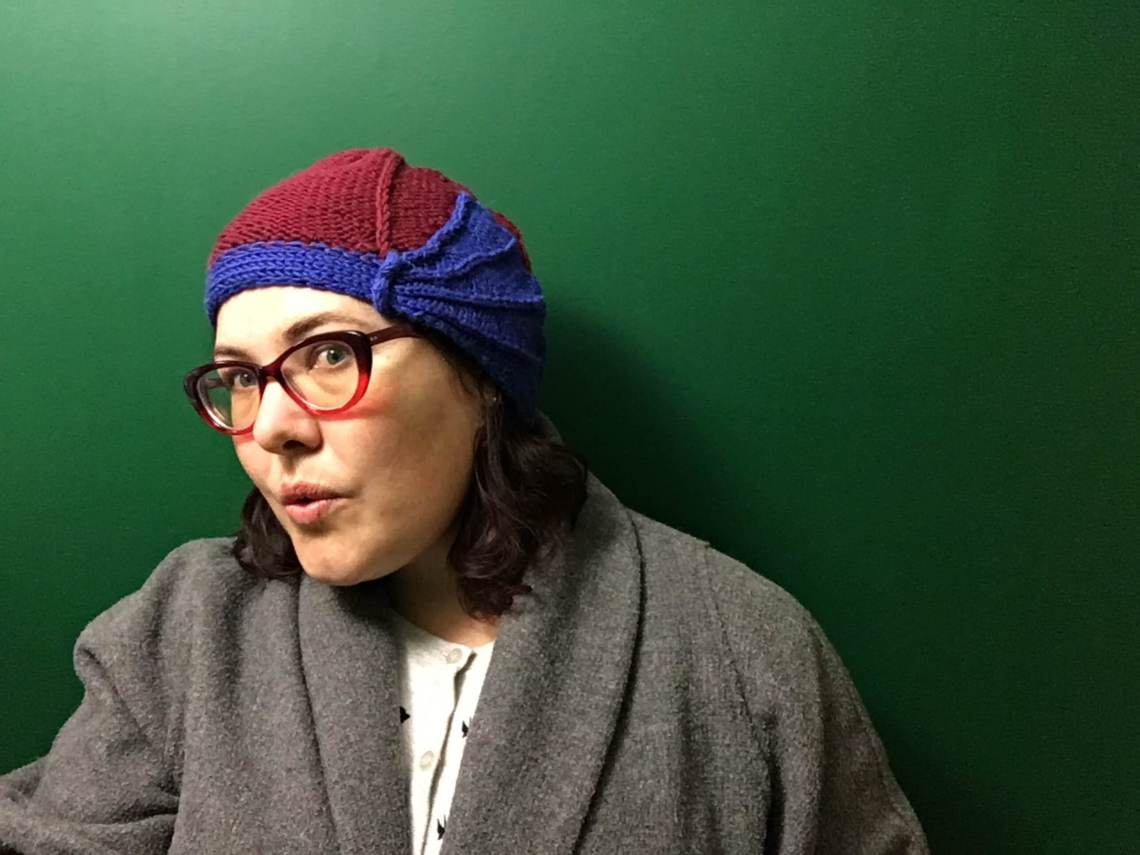 Is This The Cutest Knitted Cloche Hat Pattern Ever