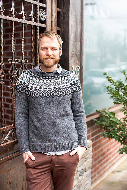 Grettir men's lopi sweater patterns