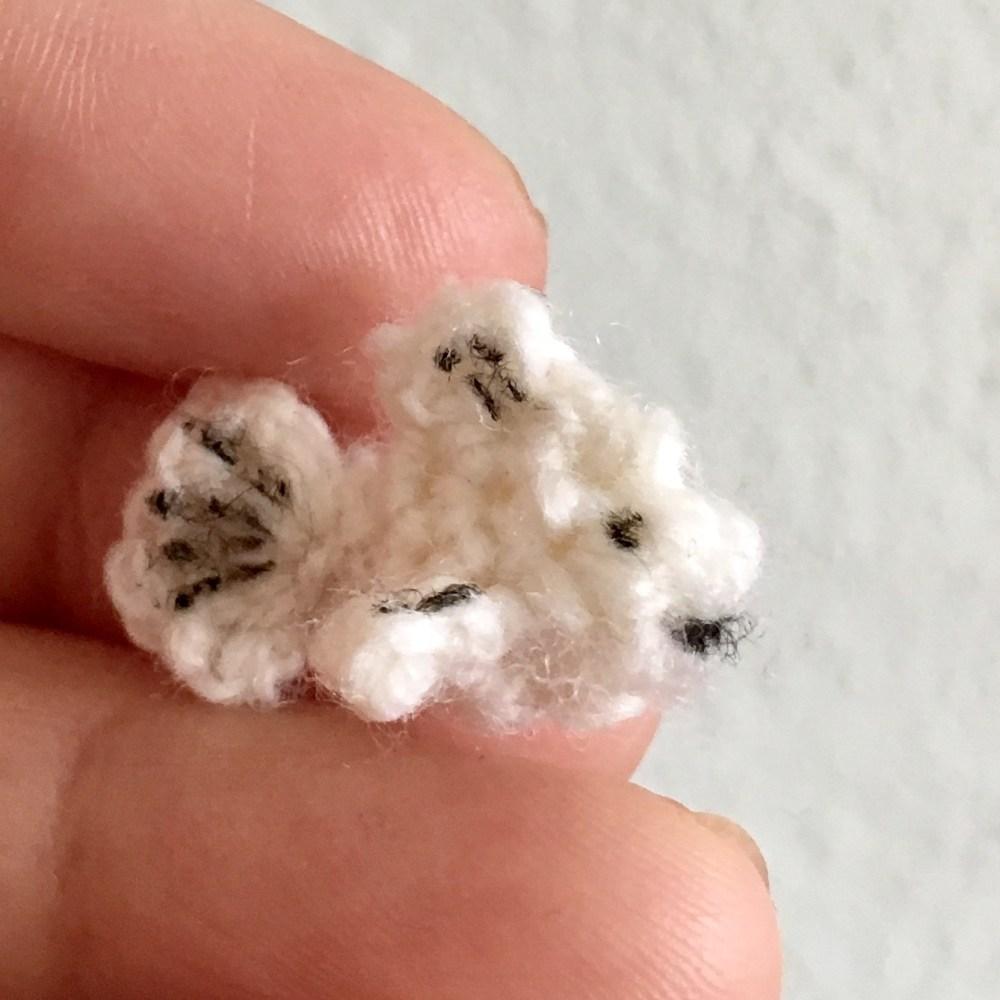 Crocheted amigurumi fish pattern