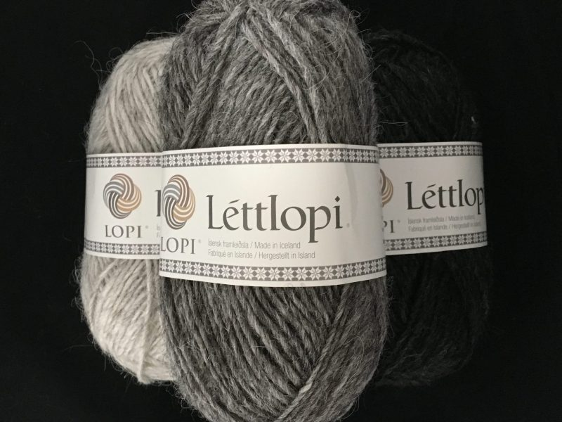 Knitting with lettlopi