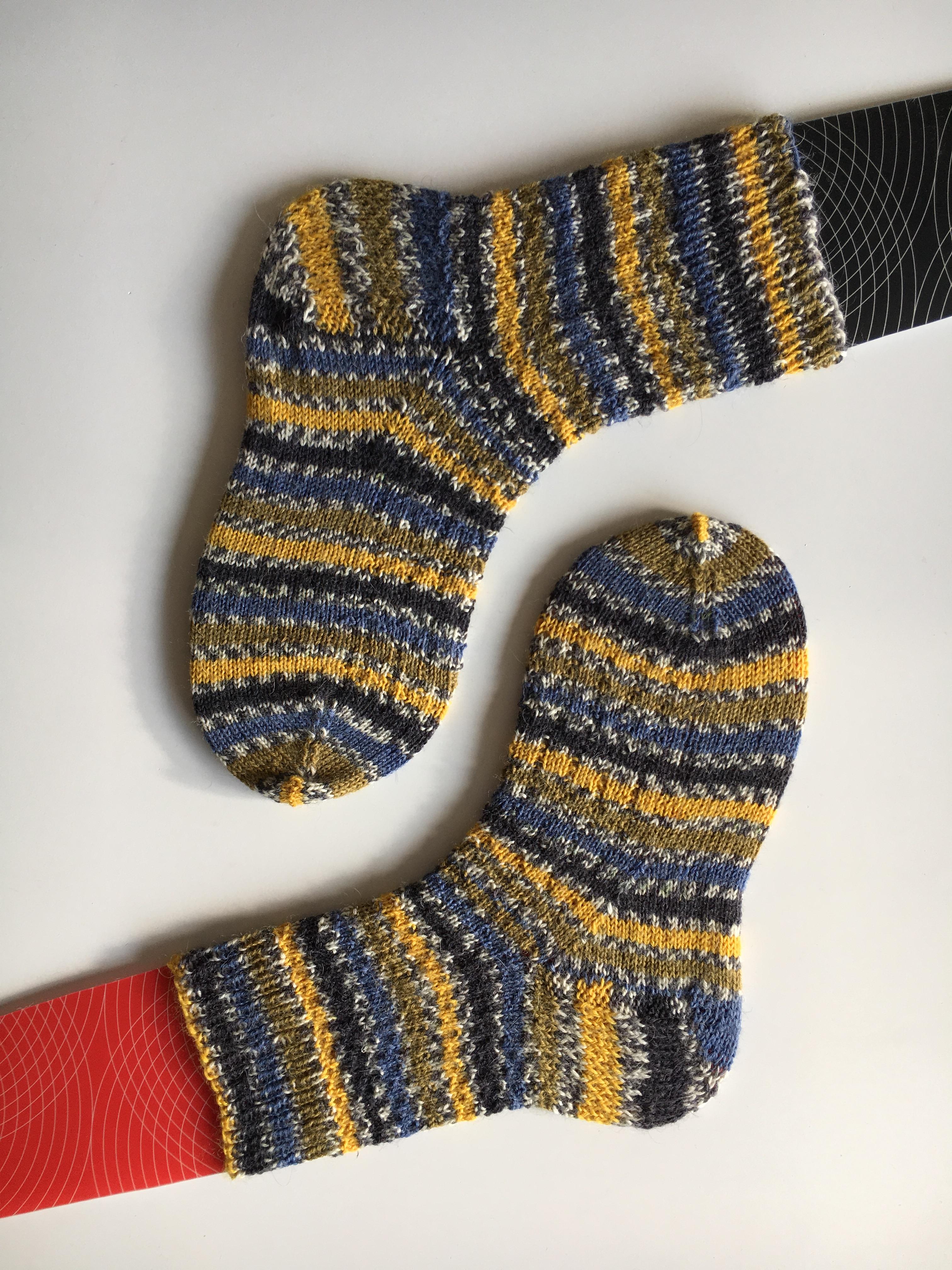 Home Made Sock Blockers