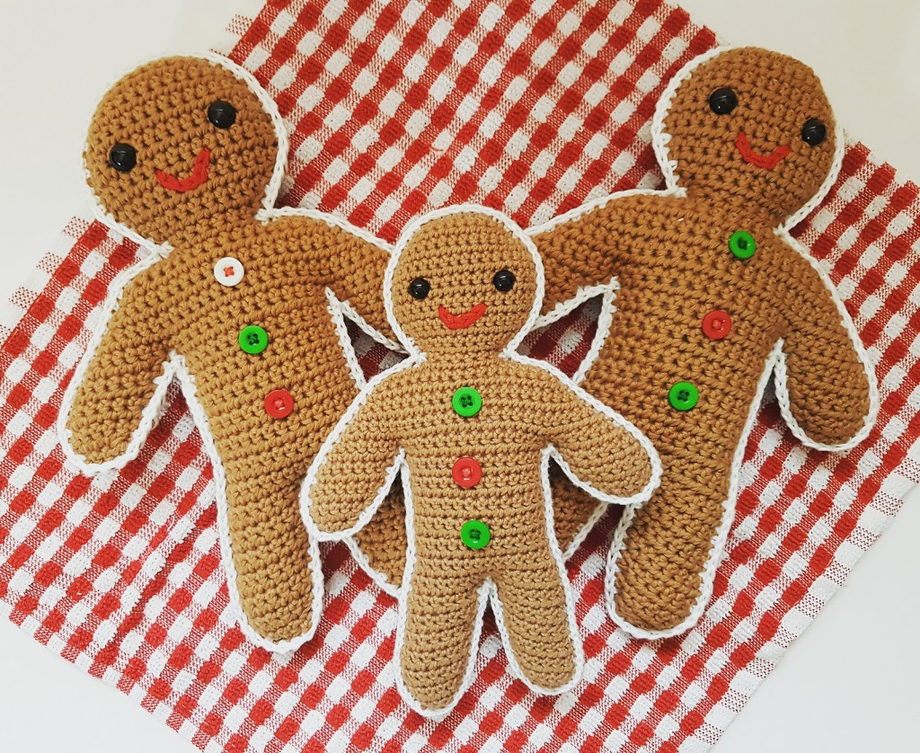 Crochet Gingerbread man pattern