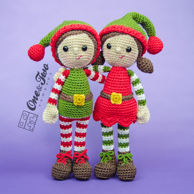 Crochet santas helpers patterns