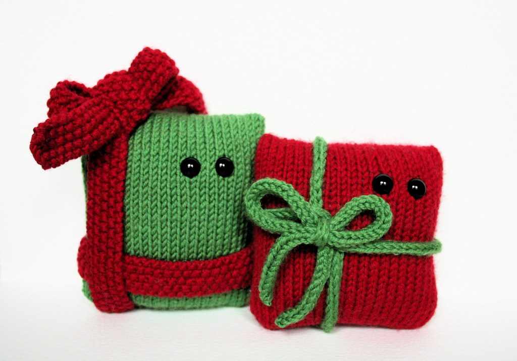 Knitted Christmas Presents