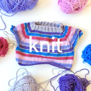 Knit simple raglan sweaters and more