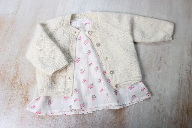 Princess Charlotte's Cardigan Knitting Pattern
