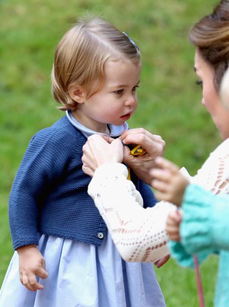 Princess Charlotte Garter Stitch Cardigan