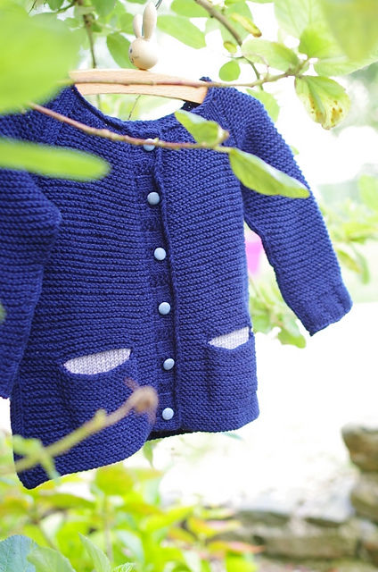 Starlette childrens cardigan knitting pattern