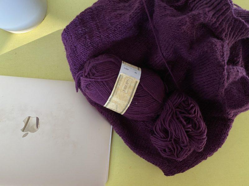 Knitting through the coronavirus
