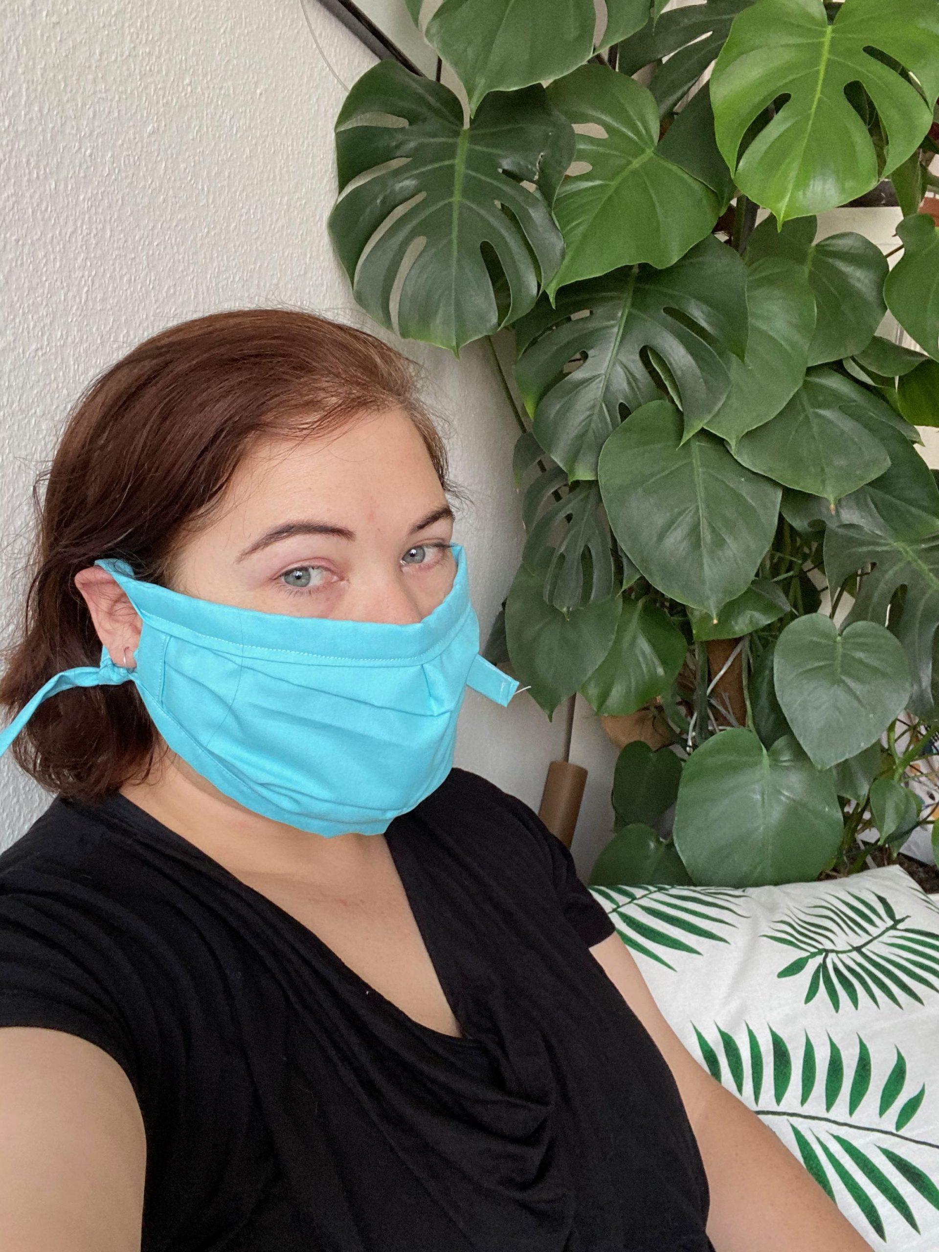 Homemade face masks for that quarantine chic