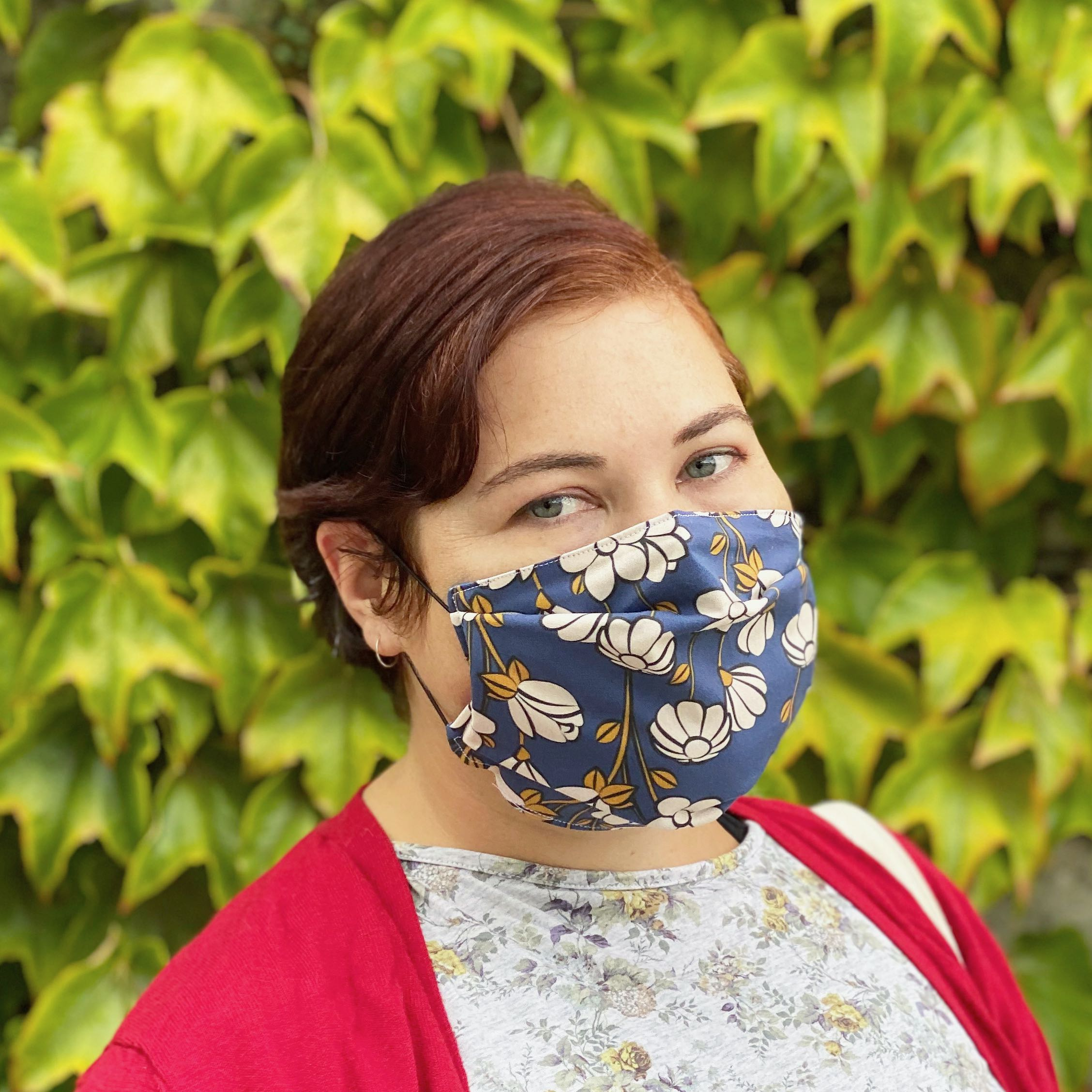 Sew a simple face mask (comfy enough to wear every day!)