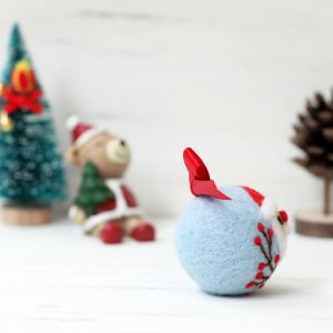 DIY Needle Felting Kit | Christmas Ornament