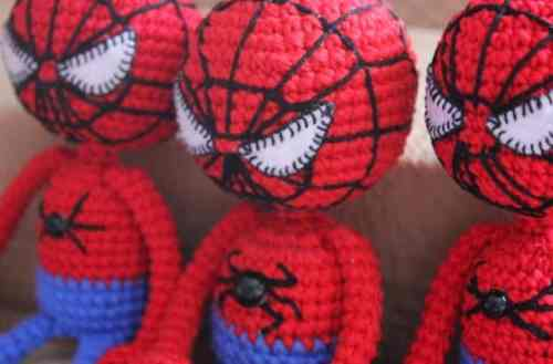 Amigurumi spiderman crochet pattern free