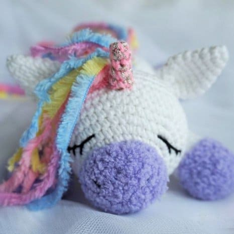 Crochet Unicorn : Free crochet animal patterns - Amigurumi Today