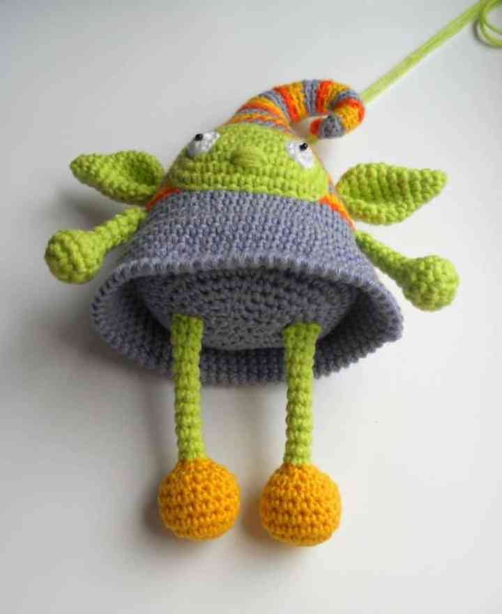 Crochet elf doll amigurumi pattern for free