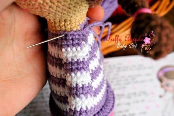Doc McStuffins doll crochet amigurumi pattern free
